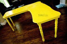 {diy} custom desk