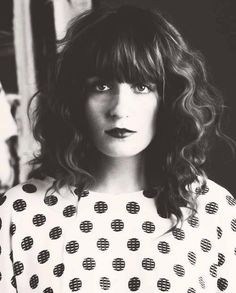 Florence Welch, of Florence + the Machine, my favorite band.
