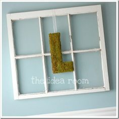 .I should do this with my window frame.