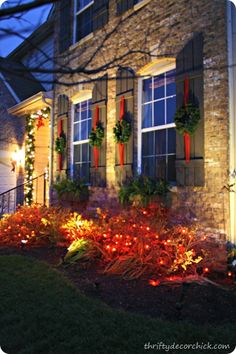 My traditional #Christmas outdoor #holiday decor