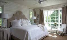Tracery Interiors Lake House Alabama bedroom