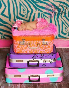 color, suitcas
