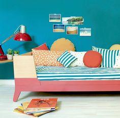 Cama para niños http://www.mamidecora.com/a%20dormir-cuna-convertible-cama-nobodinoz.html