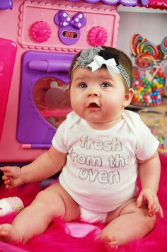 Fresh From The Oven - Funny Baby Onesie or Tee by ShopTheIttyBitty, $18.00