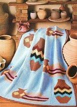 Image detail for -Navajo Pottery Afghan Crochet Pattern Indian Blanket - Afghan Patterns