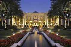Welcome to One & Only Royal Mirage Dubai.