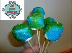 Early Earth Day Fun!!!  Earth Day pops!