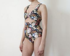 One Piece Floral Bather by MinnowBathers on Etsy