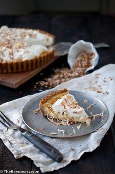 Pineapple Pale Ale Cream Cheese Tart