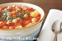 Chickpea Stew | The Naked Kitchen