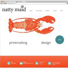 Natty Maid | Printmaking
