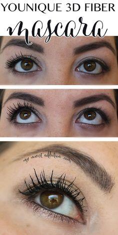 Younique 3D Fiber Mascara - My Newest Addiction Beauty Blog