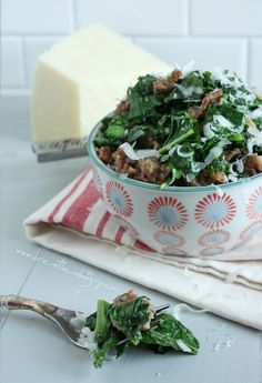Broccoli Rabe and Italian Sausage (low carb and gluten free) - ibreatheimhungry.com