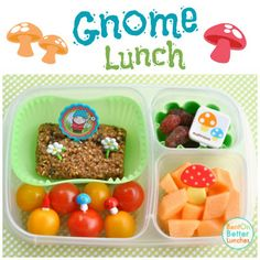 There's a Gnome packed in my lunch!   BentOnBetterLunches.com