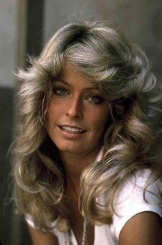 farrah fawcett, big hair