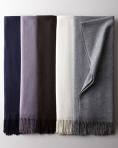 Nothing screams luxury like a great cashmere throw-go ahead and spoil your guest!    #throw #luxury #cashmere #gift