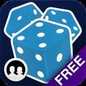 Dice with buddies-- Yatzee like turn by turn game.  Play with your friends or random opponent.