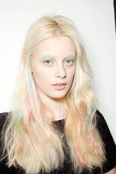 som spring, spring hair, hairmakeup, hair makeup, beauti, spring 2013, pastel hair, 2013 makeup, peter som