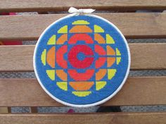 Retro CBC LogoPDF Cross Stitch Pattern by AlisonAnneStitching, $4.50