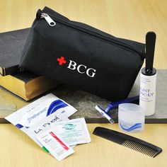 Personalized Groomsman Emergency Kit --Cool for John's groomsmen