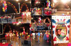 Circus Theme Centerpieces | Tags: VH1 Circus theme party balloon decor Bunch of Balloons Love and ...