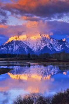 ✯ Wonderfully Serene!   Grand Teton National Park - Mount Moran