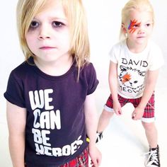 We Can Be Heroes Tee and Sk8 shorts - Rock Your Kid - Summer 2014 / 15