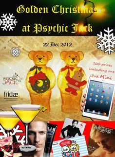 Golden Christmas @ Psychic Jack Lounge Hong Kong | Gay Asia Traveler