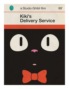Gahhh, these Vintage Penguin-inspired Miyazaki covers just kill me! SO cute!