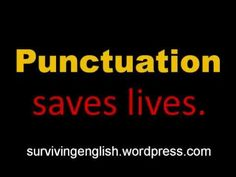 Fun Punctuation Video   Larry Ferlazzo's Websites of the Day…