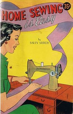 Home Sewing is Easy #vintage #books