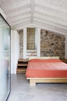 tiny but beautiful attic bedroom