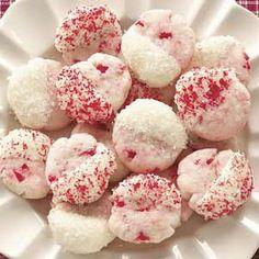 Dipped Cherry Cookies Recipe