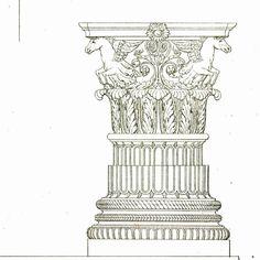 1842 Palladio Architect Drawing 170 Years Old
