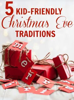 Pinterest Pin - 5 Kid-Friendly Christmas Eve Traditions