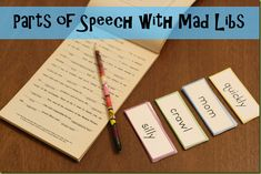 Learn Parts of Speech with Mad Libs