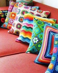 Crochet, color y alegría en la casa