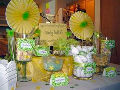 candy buffet baby shower
