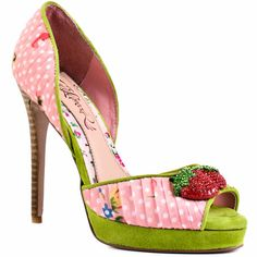 Strawberry Shoes!