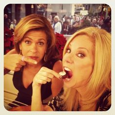 Kathie Lee and Hoda! Absolutely love them