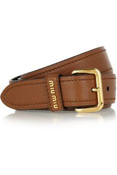 Shop now: Miu Miu belt
