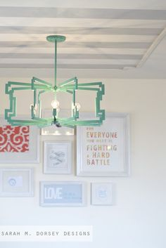 sarah m. dorsey designs: From Fluorescent Diffuser to Statement Pendant.  That will so be over my kitchen table and the longer ones on the ShinebySho website will be over my craft table.