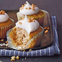 Banana-Toffee Cupcakes Recipe