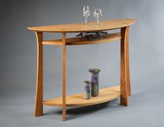 Secant Table in Cherry