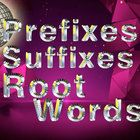 This is a PowerPoint presentation that reviews/introduces prefixes, suffixes and root words.  Each has a definition slide and a practice slide. The...