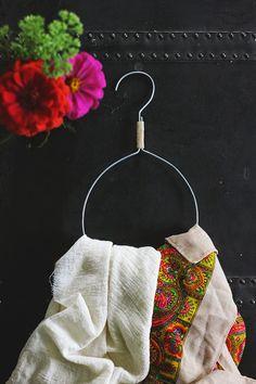 DIY Anthropologie-Inspired Scarf Hanger