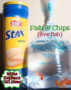 Fish & Chips - Love it! Diana Rambles: 5 White Elephant Gift Ideas