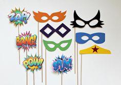fiesta de superheroes