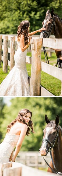 Our blushing Equestrian Love bride - be inspired with the entire styled wedding here: http://issuu.com/weddingstar/docs/weddingstar-equestrian-love-lookbook