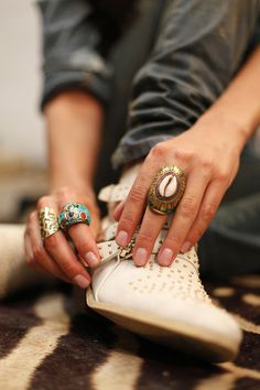 Boho Style | Boho Chic Accessories Rings - #Jewlery #gipsy #ethno #indian #bohemian #boho #fashion #indie #hippie
